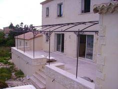 Risultati immagini per pergola fer forgé Outside Gazebo, Iron Pergola, Capri Italy, Outdoor Living Areas, Living Spaces, Shade Structure, Iron Steel, Back Patio, Backyard