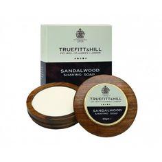 Sapun de lux pentru barbierit in bol de lemn - gama Sandalwood