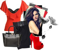 """""""red"""" by candy420kisses on Polyvore"""