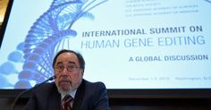 The call for a moratorium by China, Britain and the United States comes after the invention of a new technique that eases editing of the human genome.