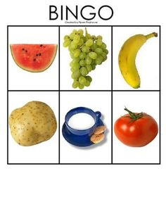 * Fruit: Bingo! 5-5