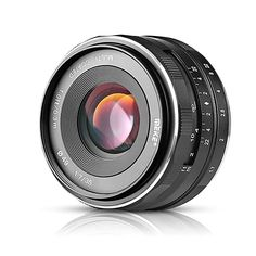 Meike Lens for Micro Four Thirds Black - Shopping Tips Camera Photography, Video Photography, Gopro, Focal Distance, Wireless Home Security Cameras, Fixed Lens, Sony E Mount, Prime Lens, Technology
