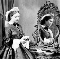 HIRM Empress Friedrich of Germany (1840-1901) née Her Royal Highness Victoria, Princess Royal of Great Britain