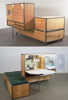 Living in a box. andrea zittel
