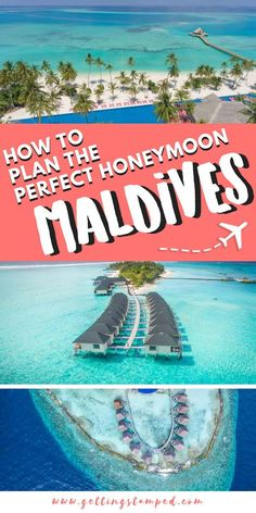 A complete Maldives honeymoon guide. This island offers overwater bungalows, beautiful beaches, and crystal clear water for diving. Find everything from the best all-inclusive resorts, things to do, and the top restaurants in this travel guide. | Getting Stamped - Couple #Travel & #Photography #Blog | #Maldives #Honeymoon #LuxuryTravel #Paradise #IslandLife #Wanderlust #BucketList #Travel #TravelTips #TravelGuide