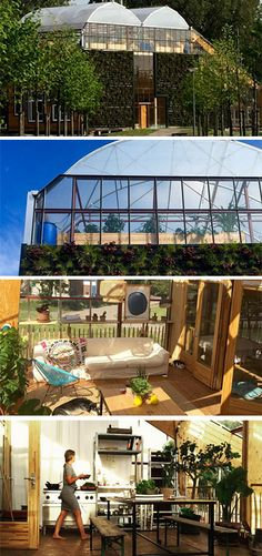 This Family Lives Inside A Giant Greenhouse
