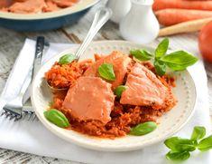 Dorsz pieczony w warzywach Thai Red Curry, Dinner, Ethnic Recipes, Food, Dining, Food Dinners, Meals, Yemek, Eten