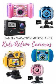 Best kids action cameras for your next vacation Tween Gifts, Kids Gifts, Travel With Kids, Family Travel, Best Camera For Photography, Travel Photography, Photography Tips, Nikon Dx, Camera Deals
