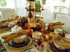 Fall Tablescape: The 61st Tablescape Thursday