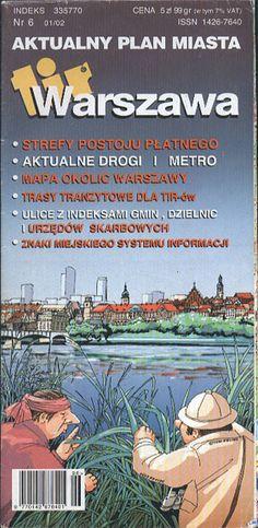 Warszawa. Aktualny plan miasta, FEMI, b. r. wyd., http://www.antykwariat.nepo.pl/warszawa-aktualny-plan-miasta-p-13398.html