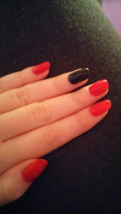 Love doing my nails...