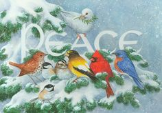 PEACE BIRDS BY KATHY GOFF