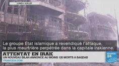 Attentats en #Irak et au #Bangladesh, enquête sur les attaques d'#Istanbul, pluies torrentielles et meurtrières en #Chine... Le point sur l'actualité en VIDÉO
