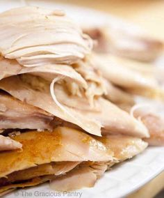 Clean Eating Whole Slow Cooker Chicken Really good! 8 hours cook. Meat falls off bones.