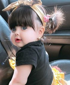 Cutie baby Stylish hairs Cute Dp The post Cutie baby Stylish hairs Cute Dp appeared first on Wallpaper DPs. So Cute Baby, Cute Kids Pics, Cute Baby Girl Pictures, Baby Kind, Baby Baby, Baby Girls, Beautiful Children, Beautiful Babies, Cute Babies Photography