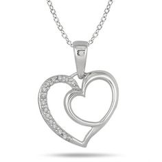 Diamond Heart Pendant #contest #mothersday