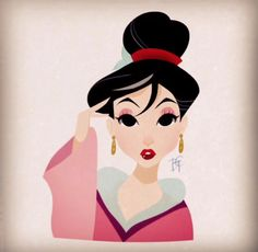 Mulan.  By psychofishes