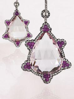 Jar earrings beauty bling jewelry fashion