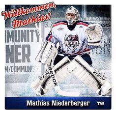 Wir begrüßen recht herzlich Mathias Niederberger in der Eisbären-Organisation. Mehr auf www.eisbaeren.de