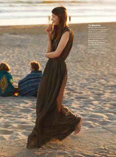 The Great Escape - Larissa Hofmann by Dan Martensen for US Glamour June 2015 - BCBG Max Azria