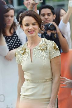 Juliette Lewis in Naeem Khan on the August: Osage County red carpet #TIFF13