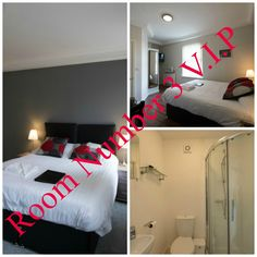 Room Number 3 In Our V.I.P House,This Is On The Second Floor, Prices Start At £55.00 Per Night B #B #Guesthouse #BedAndBreakfast Best Bed And Breakfast, Number 3, Second Floor, Bunk Beds, Manchester, Toddler Bed, Two By Two, Flooring, Night