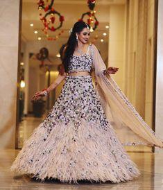 67) Pick up the Lilac Leila lehenga for the Mehendi night shoot! Bridal Mehndi Dresses, Wedding Saree Blouse, Indian Bridal Outfits, Bridal Lehenga, Wedding Dress, Wedding Outfits, Indian Groom Dress, Dress Indian Style, Indian Dresses