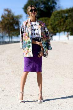 Best Street Style from Paris Fashion Week Spring 2015