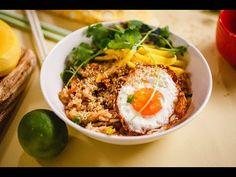 Pirított rizs lazaccal és zöld mangóval » Lila füge Manga, Health, Ethnic Recipes, Youtube, Diet, Cilantro, Health Care, Manga Anime, Manga Comics