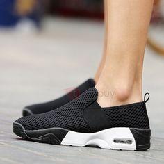 Breathable Mesh Elastic Band Men's Sneakers