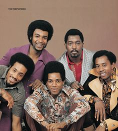 The Temptations in the 70's #motown