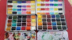 My paint Winsor&Newton 2x24 colors