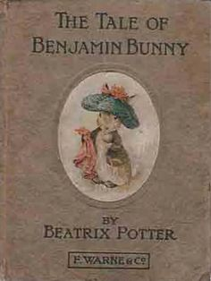 The Tale Of Benjamin Bunny by Beatrix Potter. Always enjoy this tale as well as all the stories by Beatrix Potter. And the illustrations are precious! Vintage Children's Books, Antique Books, Beatrix Potter Illustrations, Book Illustrations, Beatrix Potter Books, Beatrice Potter, Peter Rabbit And Friends, Benjamin Bunny, Mouse Color