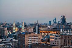 Экскурсии по крышам. Свидание на крыше Москвы