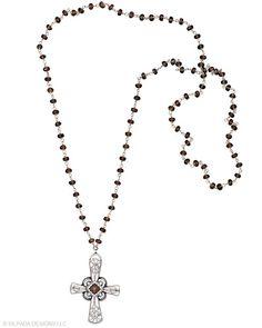 The ornate filigree of this Necklace evokes a sense of timeless regality. Smoky Quartz, Sterling Silver.