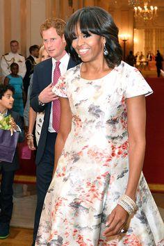 Michelle Obama's Best Dresses - Michelle Obama 50th Birthday Best Dresses - Cosmopolitan