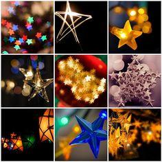 Christmas stars...