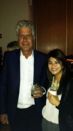 Hanging out with Anthony Bourdain #foodevent #charity #NYC