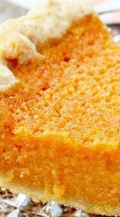 Buttermilk Sweet Potato Pie