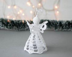 Häkeln Sie Weihnachten Glocke häkeln von SevisMagicalStitches