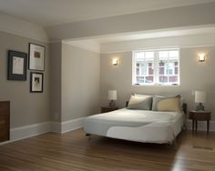 Wall color with maple hardwood floors
