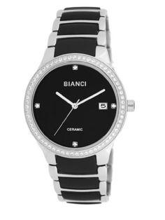 472c4addaf33 Roberto Bianci Women s Bella Ceramic Watch with Zirconia Studded  Bezel-B294BLK-Black by Roberto