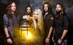 Download wallpapers The Agonist, Canadian metal band, photoshoot, Vicky Psarakis, Danny Marino, Chris Kells, Simon McKay, Pascal Jobin