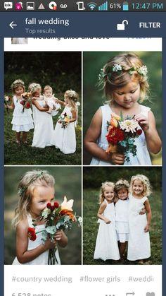 #Fall #wedding #october #november #orange #red #brown #whitedress