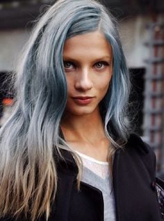 #mermaid #hair #inspiration #blue #mermaidhair