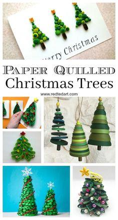 www.redtedart.com wp-content uploads 2017 11 Paper-Quilled-Christmas-trees.jpg