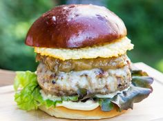 Veal French Onion Burger Recipe by FlavCity Bobby