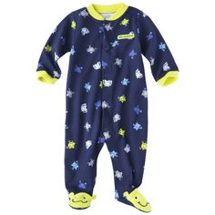 Just One You™Made by Carter's® Infant Boys' Sleep N' Play - Dark Blue/Yellow