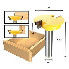 1/2 Inch Shank Rail Stile Router Bit Shaker Woodworking Chisel Cutter Set #Inch #Shank #Rail #Stile #Router #Shaker #Woodworking #Chisel #Cutter