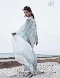 Model Anaïs Pouliot for L'Officiel Paris | Photographer: Hannah Khymych | Styled by: Vanessa Bellugeon